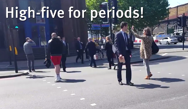 High-five for periods