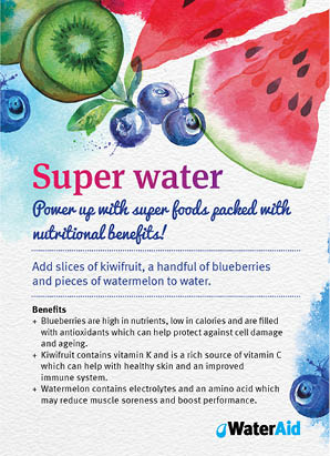 Super water recipe