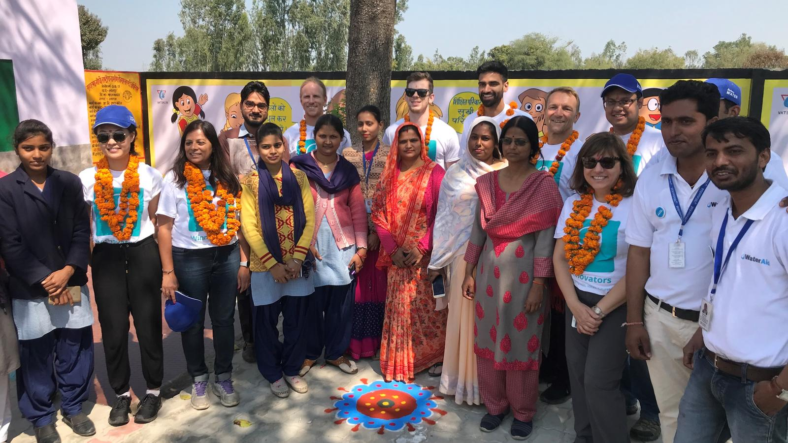 Team Praan in India