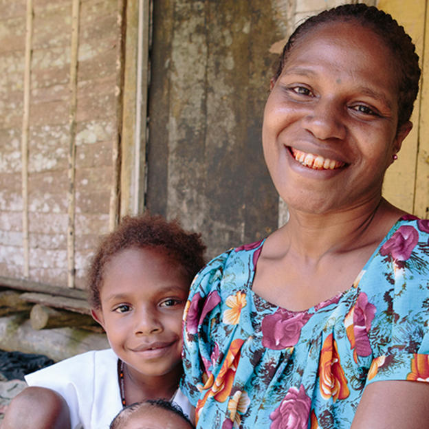 PNG mother and child