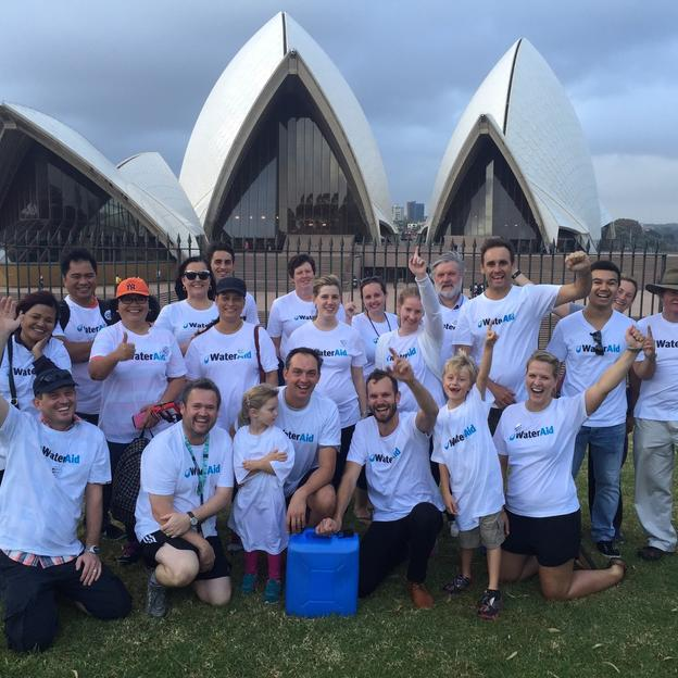 Walk 4 Water Sydney Committee - 20 March 2015