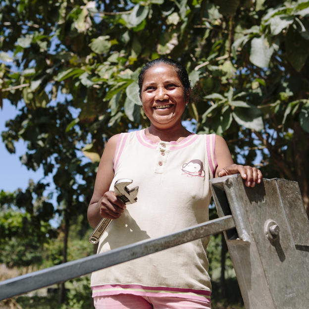 Juliana is the secretary of the water committee in her village in Manufahi District in Timor-Leste.