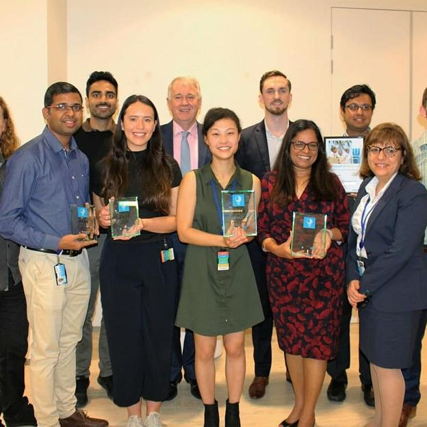 Sydney Water Praan – 2018 Global Overall Winners/Asia Pacifc Region Winners
