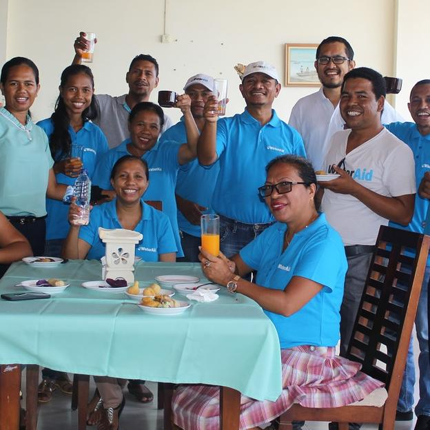 WaterAid Timor-Leste team