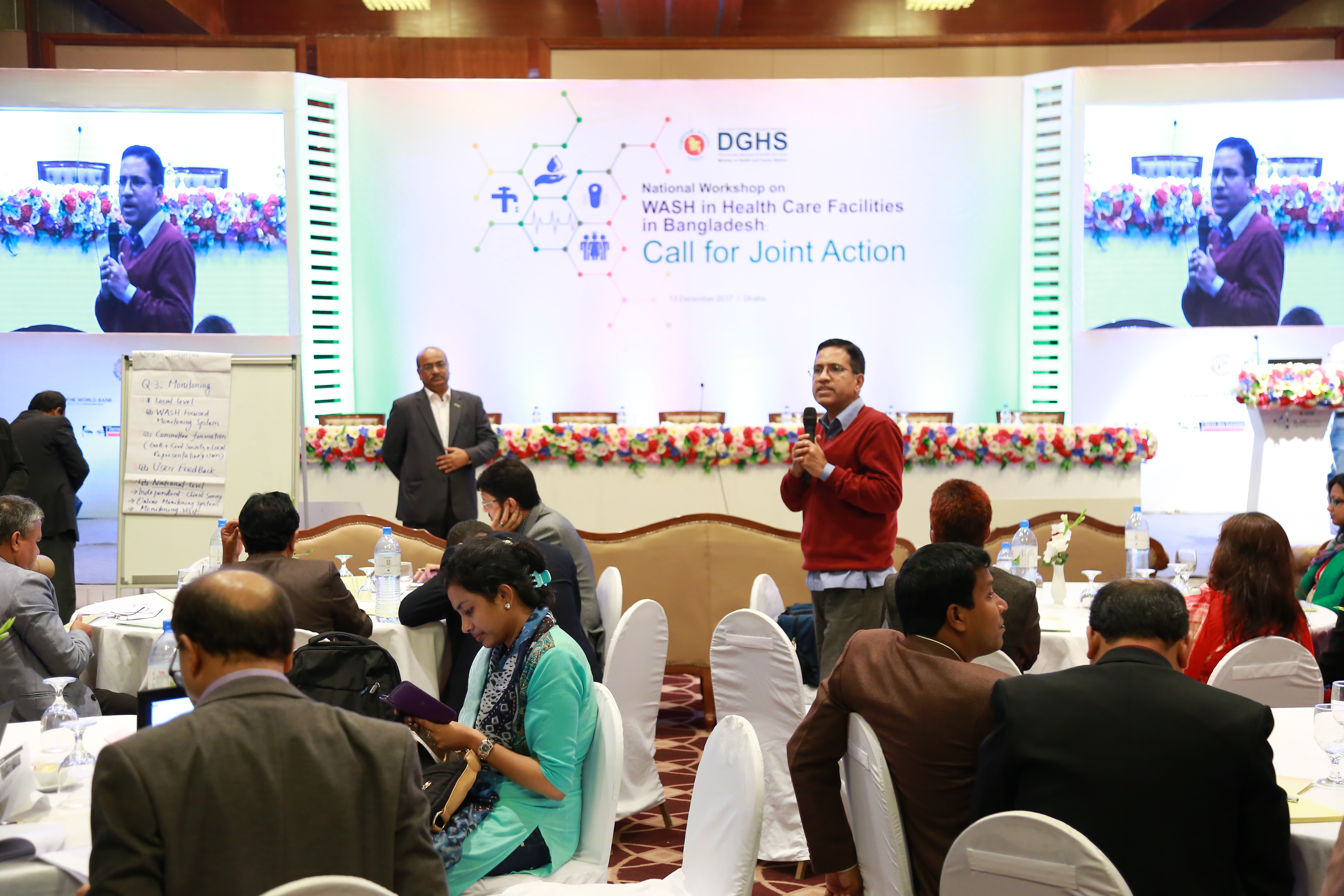 "WaterAid participates at the ""National Workshop on WASH in Health Care Facilities in Bangladesh: Call for Joint Action"""