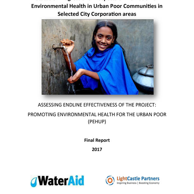 ASSESSING ENDLINE EFFECTIVENESS OF THE PROJECT: PROMOTING ENVIRONMENTAL HEALTH