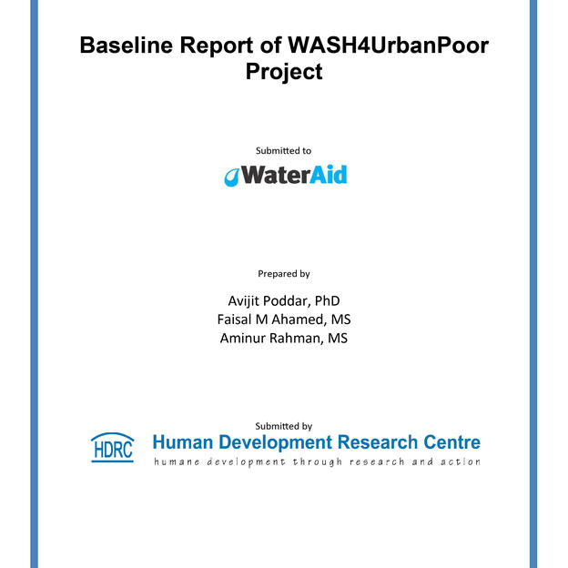 Baseline Report of WASH4UrbanPoor Project