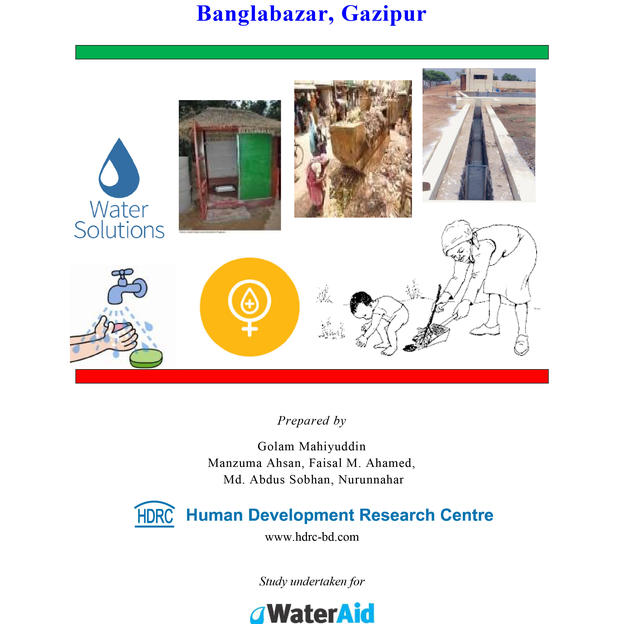 Baseline Study on WASH for Community Development