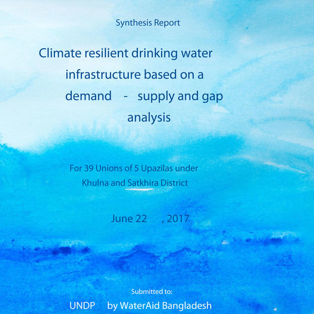 Synthesis Report: Climate resilient drinking water infrastructure