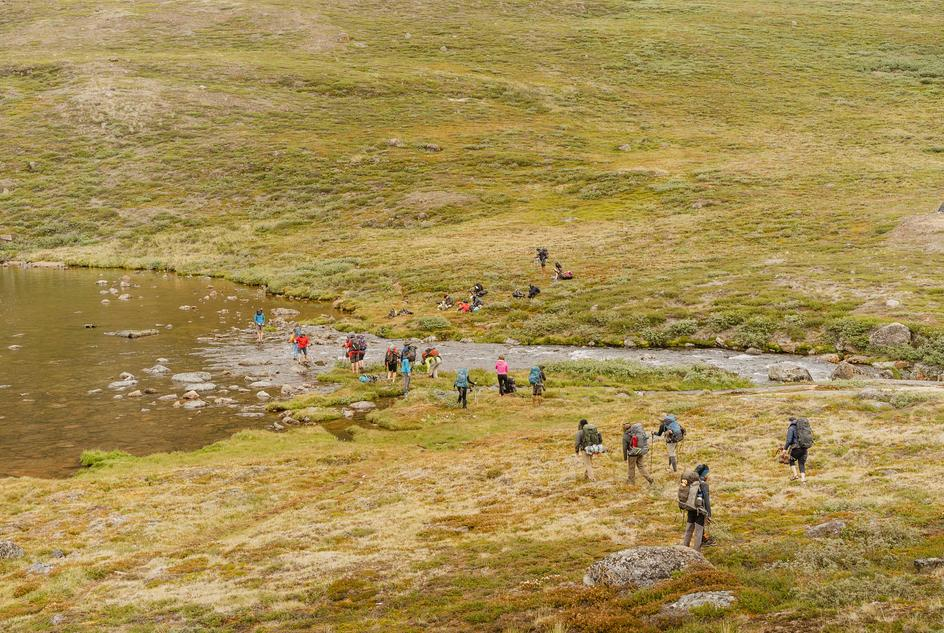In 2018 HSBC participated in Challenge Arctic to raise money for WaterAid.