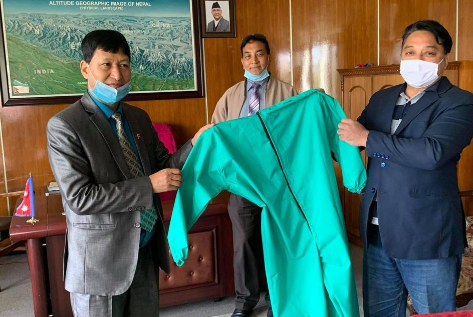 wateraid-nepal-in-collaboration-with-partner-guthi-hand-over-500-personal-protective-kits-ppe-to-sanitation-workers-and-hospitals-in-kathmandu-kirtipur-and-lalitpur-municipality