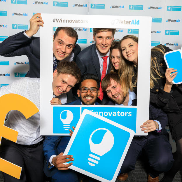 WaterAid winnovators event, London, 19th October 2018.