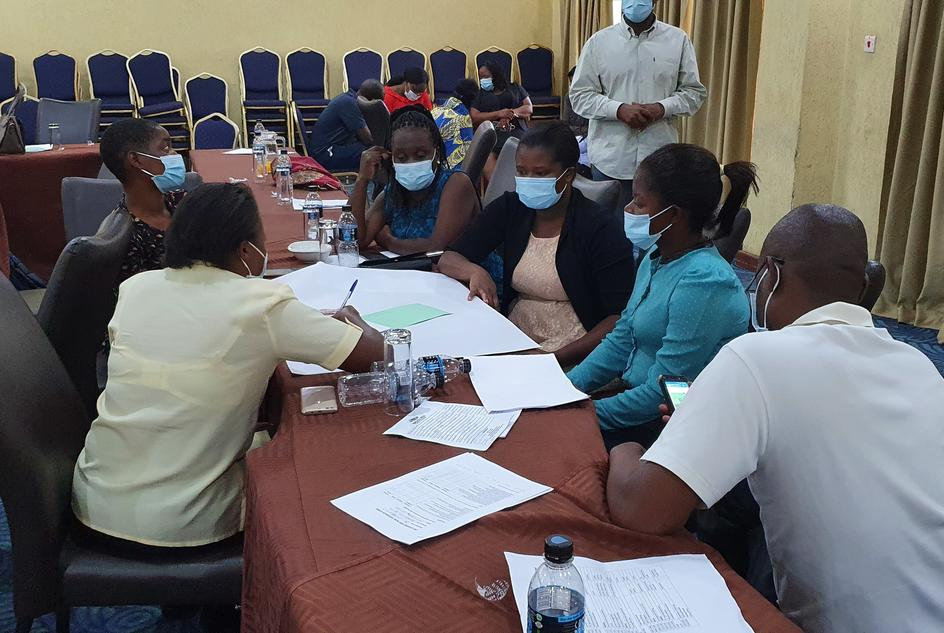 covid-19 training to medical and non-medical staff in Lilongwe