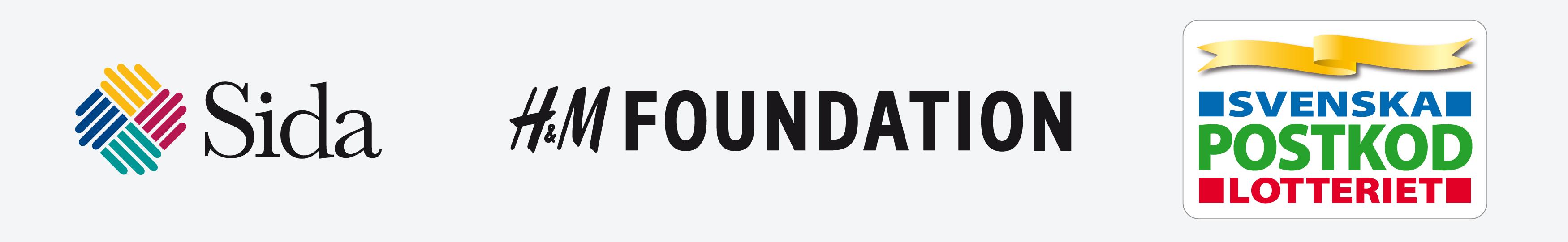 Sida, H&M Foundation och Svenska Postkodlotteriet