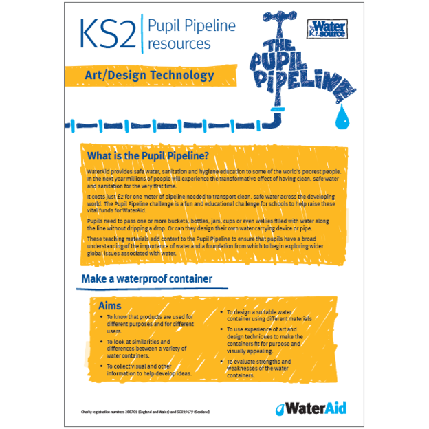 Pupil Pipeline Art and Design Technology lesson plan