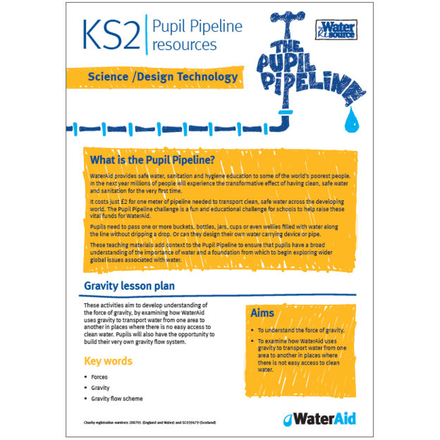 Pupil Pipeline Science and Design Technology lesson plan