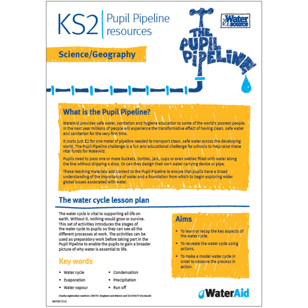 Pupil Pipeline Science and Geography lesson plan