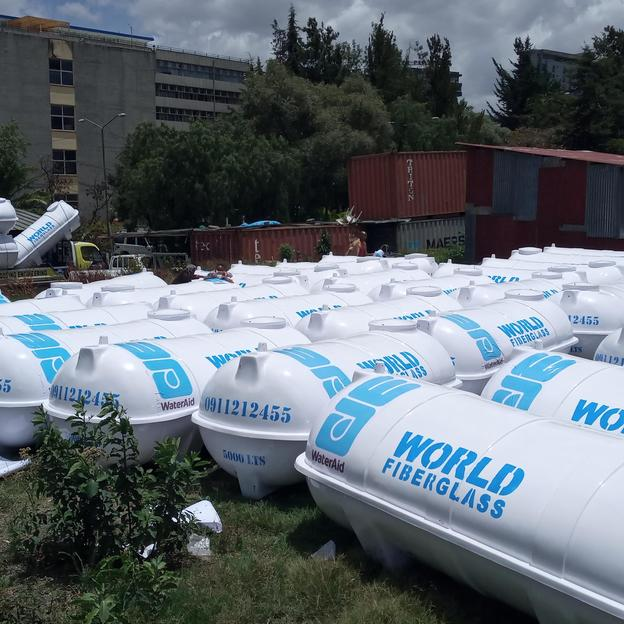 WaterAid Ethiopia offered 50 water tanks with 5,000 litre capacity, 2500 litre of alcohol and over 1000 bars of laundry soaps to be distributed to health centres and temporary COVID-19 treatment sites within Addis Ababa. COVID-19 response. Ethiopia. A ...