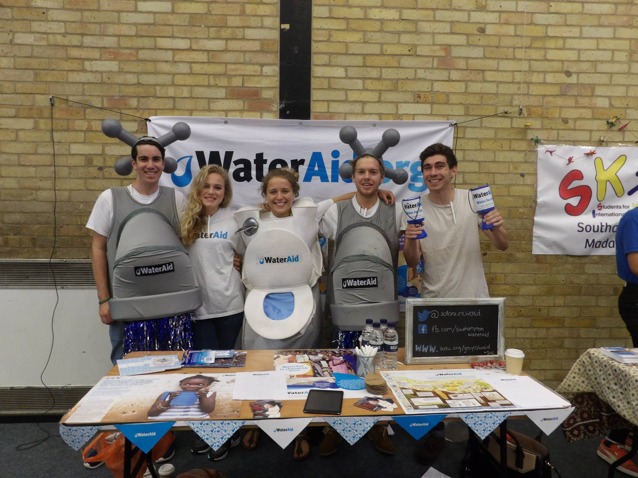 The WaterAid Society at Southampton University