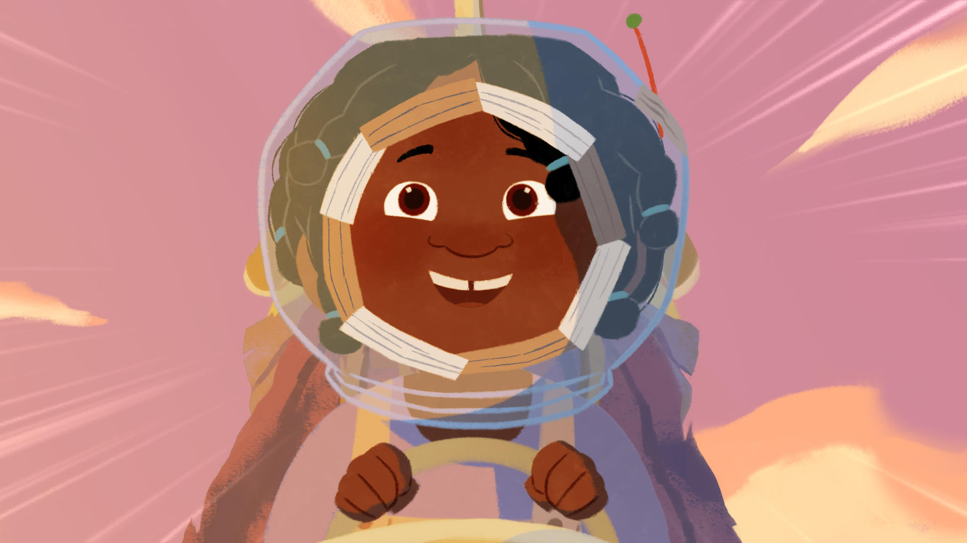 Fara's dreams of becoming an astronaut and flying to Mars seem to be coming true as she takes off in her homemade rocket.