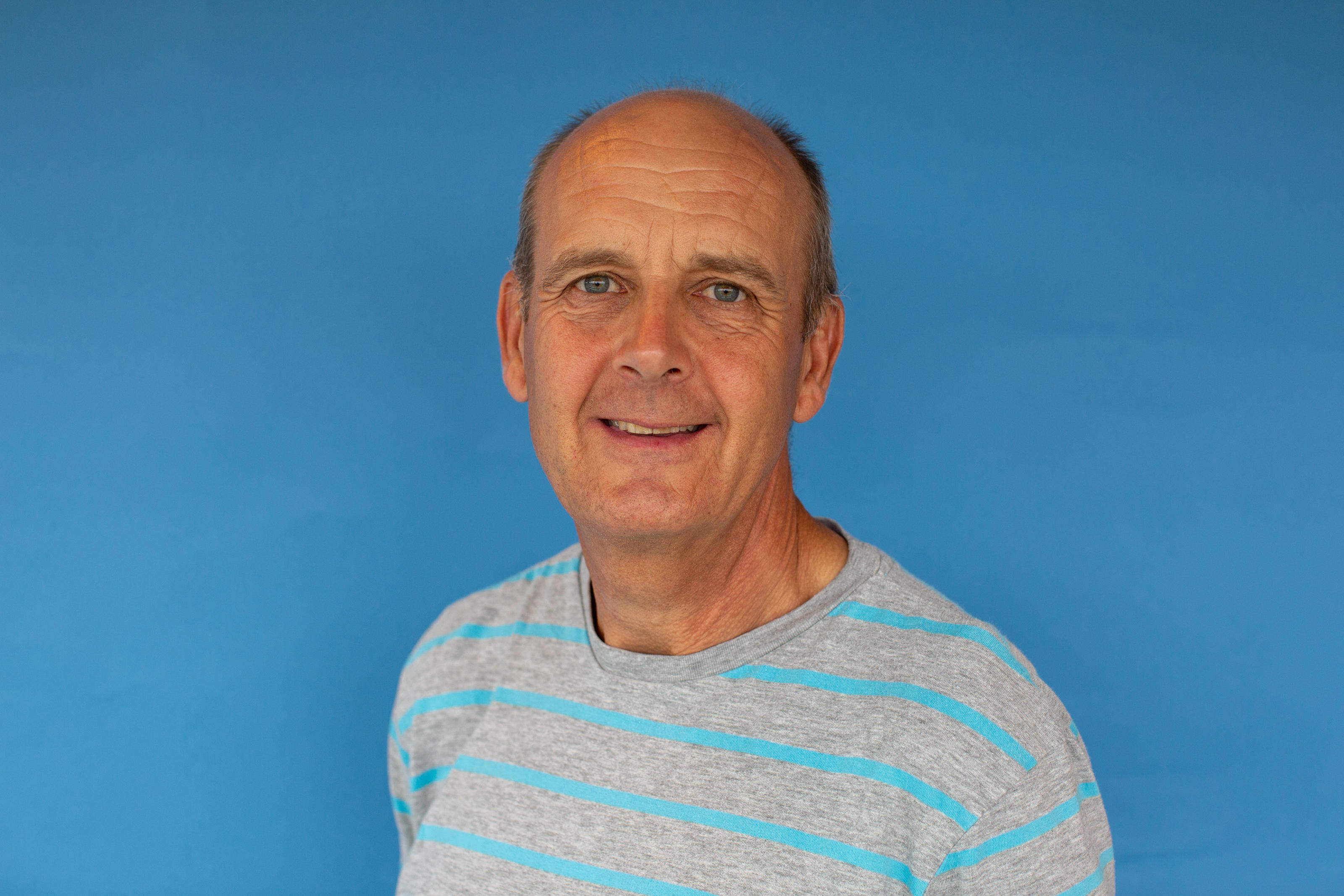 Bob in our events team - contact him if you have questions about the Brighton Matathon