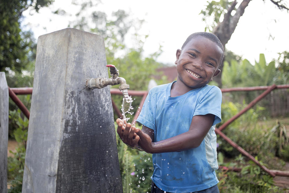 Give to WaterAid through AmazonSmile Image