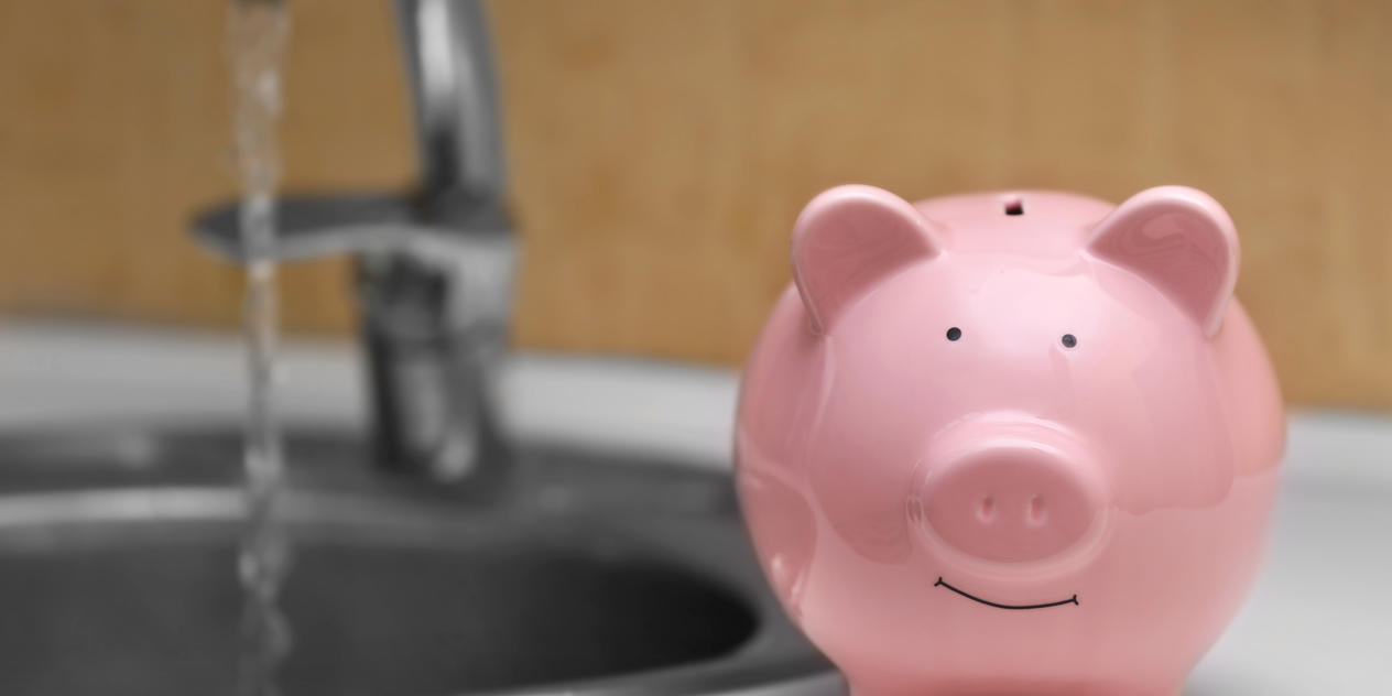 Save money on your water bill by using the WaterAid Savings Engine™ Image