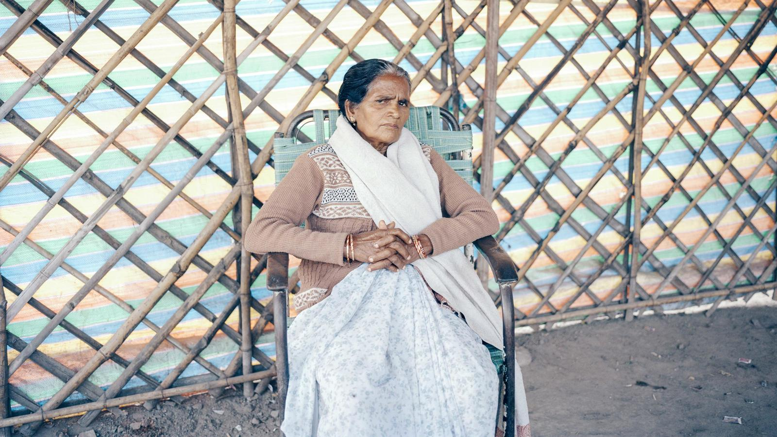 Kalavati, who has dedicated her life to building toilets in India's slums.