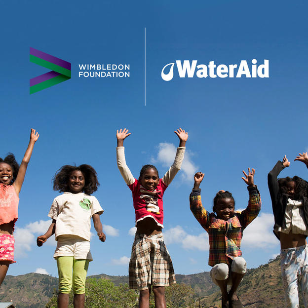 Children in Madagascar celebrate gaining access to clean water