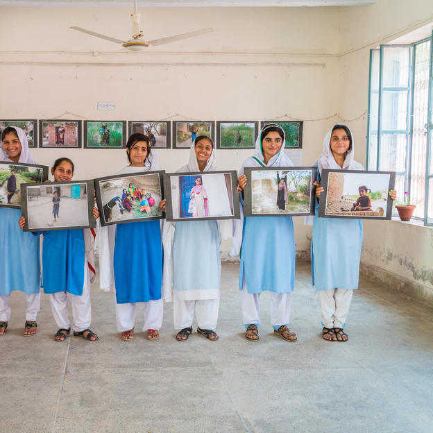 Students share their photos from the participatory photo project in Pakistan, 2017.