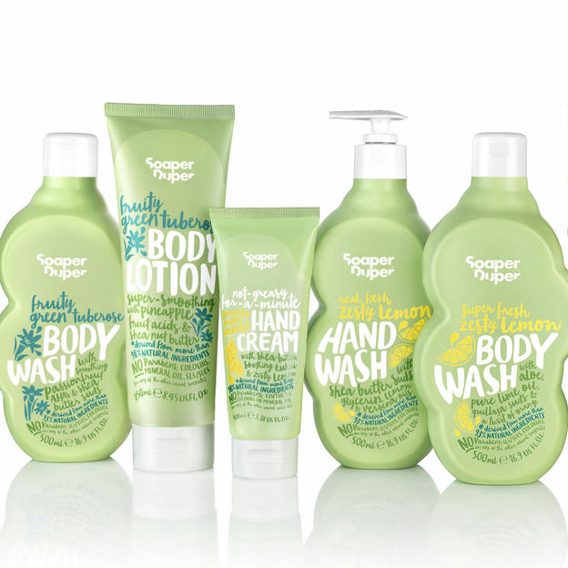 Soaper Duper bath and body products