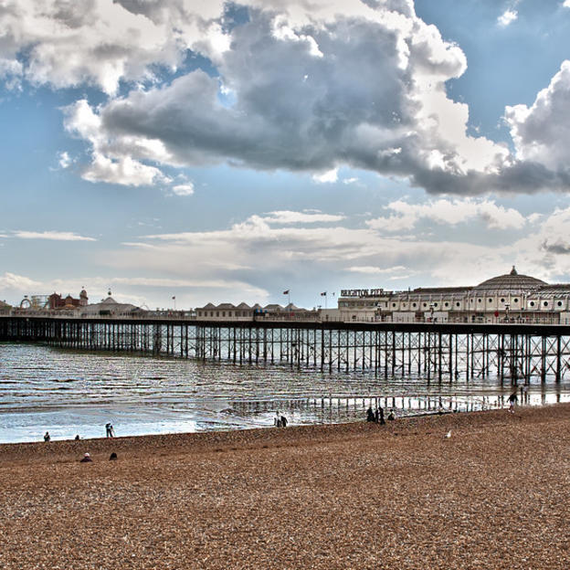 Brighton pier, which you'll run past en route in the Brighton Marathon