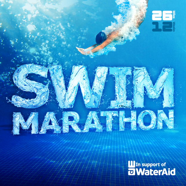 Swim Marathon for WaterAid - swim 26 miles in 12 weeks