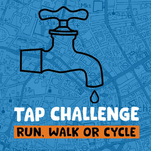 Tap Challenge: run, walk or cycle