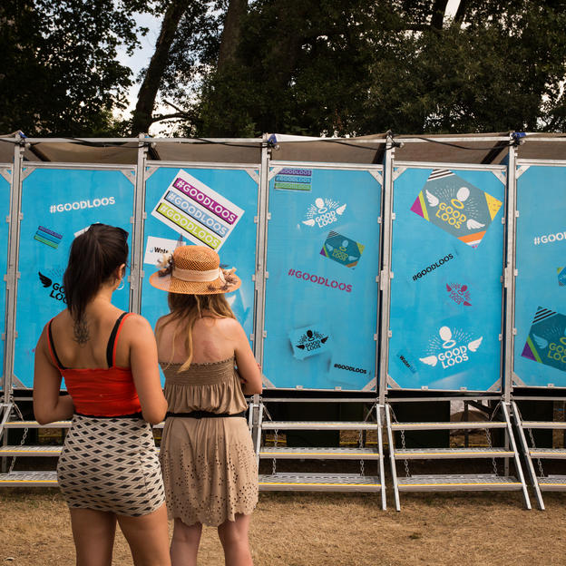 WaterAid's Good Loos at Bestival 2018