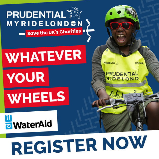 Whatever your wheels, join My Ride London