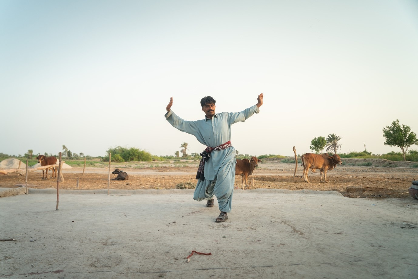 Umeed from Pakistan dancing