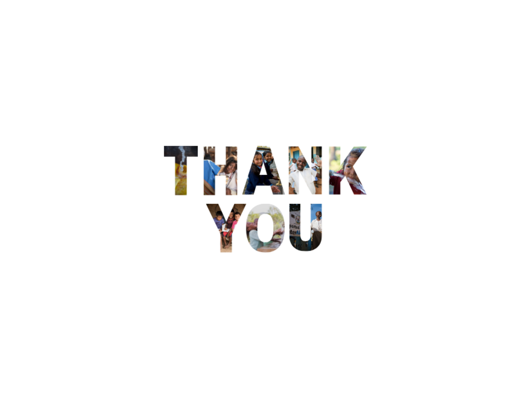 September 2019 - THANK YOU MONTH | WaterAid