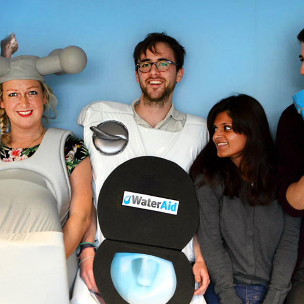 WaterAid staff