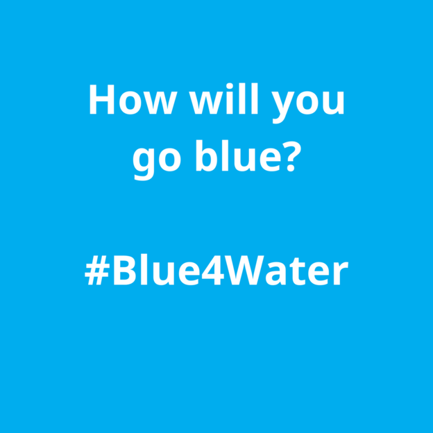 Go #Blue4Water with WaterAid