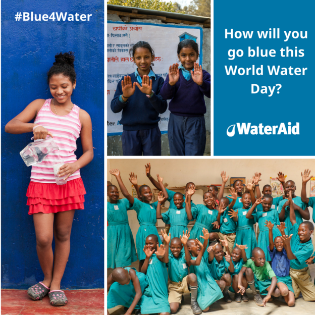 How will you go #Blue4Water this World Water Day?