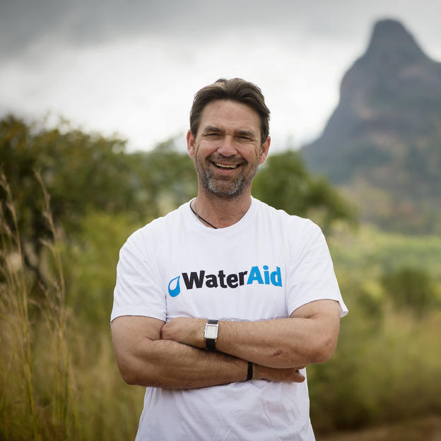 Dougray Scott visits WaterAid's work in Mozambique.