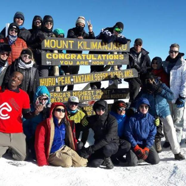 WaterAid supporters climb Mount Kilimanjaro in support of WaterAid